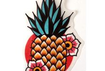 Tattoo ananasek