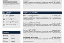 Moderne Cv's en motivatiebrieven / Werkgevers ontvangen enorm veel CV's op een dagelijkse basis, zelfs als je de meest gekwalificeerde kandidaat bent voor de functie, kan het zijn dat je misschien niet opvalt tussen al die andere CV's. Het is dus van groot belang aandacht te trekken en zo je kans op die droombaan te vergroten.