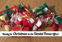 Dental Focus Christmas 2014 / Inspiration from the office during December 2014...
