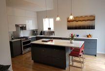 Kitchens / Custom kitchen and family room renovation