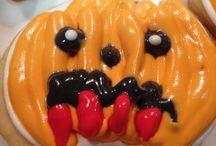 Halloween galetes cookies