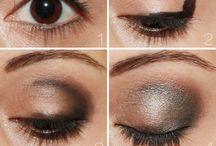 eye makeup / by Geetu Adi