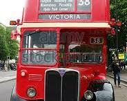 1940s London Bus / Iconic travel