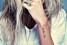Tattoos / My love of all pretty, simplistic or well-designed tattoos...