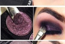 Evening Makeup / Dark smokey eyes
