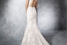 White One by Pronovias / The White One collection stands along side our San Patrick collection in the boutique. This collection has a slightly lower price range.