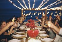Our weddings: table settings & decorations / Our most beautiful and cutest table settings