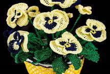 Horgoljunk virág