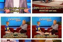 Ellen you gotta love Ellen  / Funniest woman on the planet / by Abbey