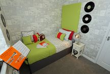 Red Interior Design / Gleeson Homes showhomes with a distinct & vibrant red theme throughout. www.gleeson-homes.co.uk