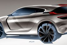 EXTERIOR CarDesign / Beautiful in the outside. #cardesign #sketches #exterior #mostbeautifulcars