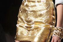 Stay Gold (& Silver ) / Fashion , apparel + bijoux