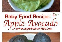 Puree baby food