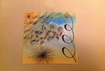 Dashtangles Watercolour Tile Originals / Tiles I have created