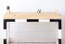 Soccer bedroom