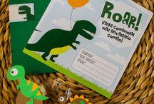 aniversário dinossauros