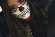 halloween's makeup