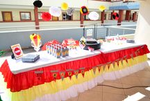 Ferrari themed birthday party / special occasions