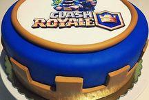 clash royal party