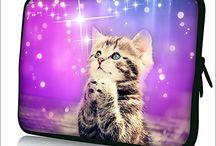 Cat Laptop Covers & Ipad Sleeves Etc