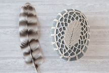 crochet-stones