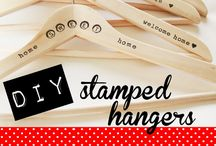 Rubber Stamp Crafts / DIY ideas using rubber stamps.  The best craft projects from around the web!