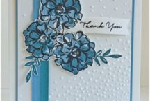 Stampin Up! Thank you cards