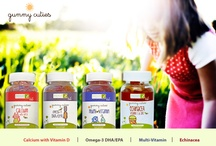 Gummy Cuties Vitamins! / Ever try to get your kids to eat a balanced diet? Children are well known for their challenging eating habits. That's why we created Gummy Cuties, Children's gummy vitamins, to give your kids the nutritional support they need everyday. And they taste great, too!
