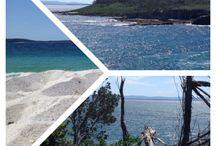Australian beaches / White sands