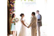 Ceremony florals by Passiflora / Florals from wedding ceremonies.
