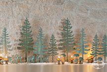 Natale 2014 | TonoSUTono / Idee, decorazioni e allestimenti per il Natale.  Seguici su  http://www.cartaibassanesi.it/TonoSuTono/idee/natale