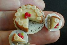 Comidas en miniatura, fimo y otros polímeros