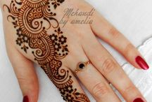 Mehendi Hand and Foot