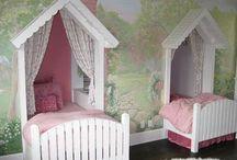 idées sister girl's room