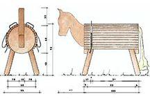 Pferd bauen