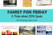 Family Fun Friday / Family Fun Friday is a weekly link-up with all the best inspiration for moms, recipes, homeschooling, and craft ideas!