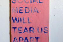Social Media -  Art & Illustration