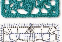Crochet diagrams | Haakdiagrammen / by Freubelweb