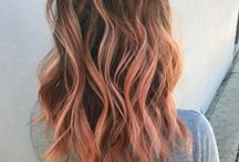 Pink highlights