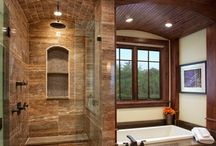 bathroom remodel ideas / by Marianna Lucas