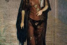 Александр Аханов  По страницам истории искусства / несколько работ переосмысления известных картин мировой живописи