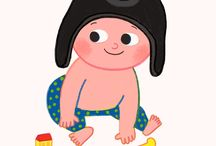 HELLO BABY / Illustration and graphic designer