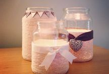 Pretty little things / Home crafts and simple diy decorations