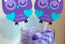 Owl Baby Shower Theme/ Owl Birthday Party Decor