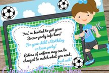 Layla's Soccer Invitation