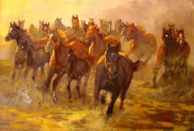polscy malarze koni / polish horse painters