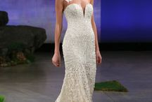 Wedding Dresses | Beaded / The finest Swarovski beaded wedding dresses by the designers we love. The bridal trends are bringing back the opulent beaded gowns we have always loved.