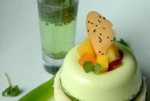dessert platting