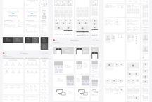 Webdesign – wireframe