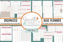The Sensible Family Planners / Showcasing my favorite planners, printables, and organizational tools.